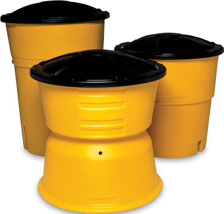Impact Attenuation Barrels