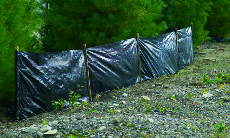 Geotextile and Erosion Control