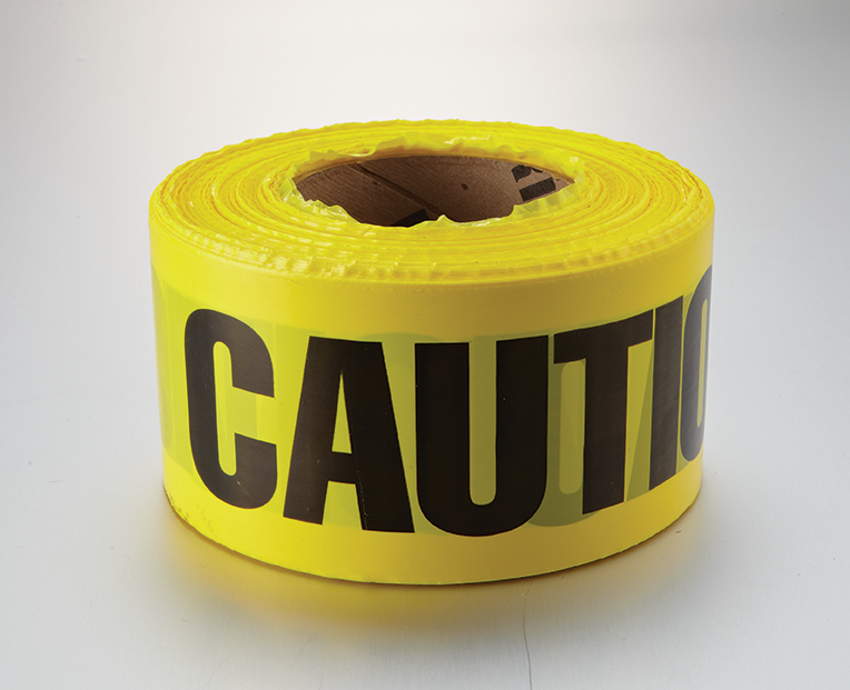 Barricade Tape And Chain