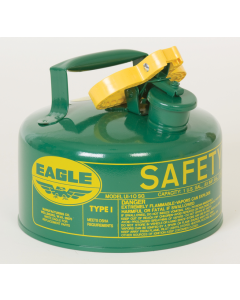 Type I Green 2.5 Gallon Safety Can