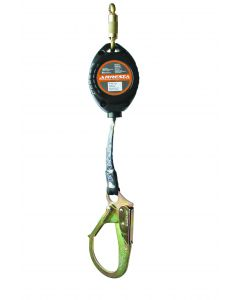 ARRESTA 11' Retractable with large hook and carabiner