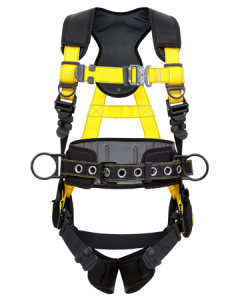 ARRESTA Platinum Elite Construction Harness with QC and Hip D ring