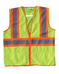 Yellow Limited Flammability Class 2 Mesh Vest