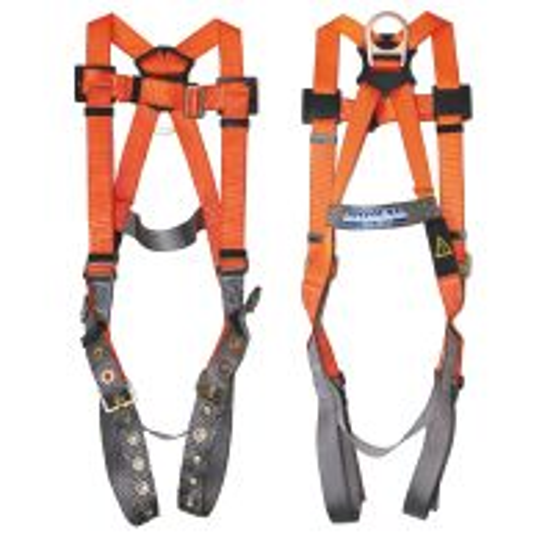 ARRESTA Gold Series Premium Harness with tongue buckle leg straps
