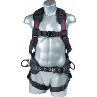 Premium Construction Harness with QC Buckles and Hip D rings