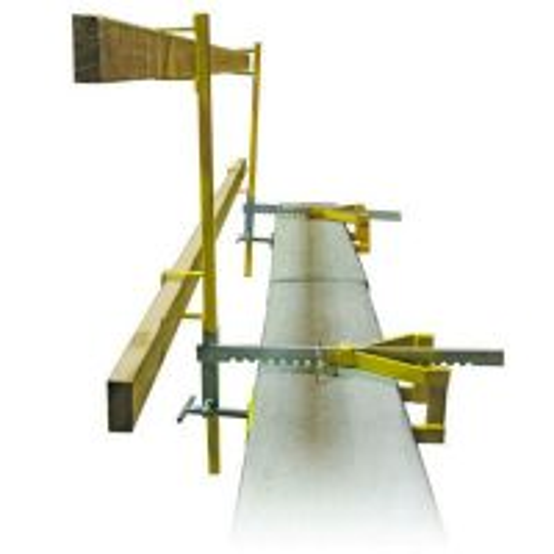 Parapet Clamp Guardrail System
