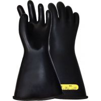 """LINEPRO Class 2, Electrical Insulating, Rubber, Lineman Glove, 14"""" Length, Date Stamped"""