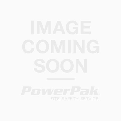 "Roll-Up Sign,""Flagger Ahead Symbol Graphic"", Black on Orange, Diamond Shape, Hi-Intensity Reflective, With Fiberglass Ribs, 48"" x 48"", W20-7"
